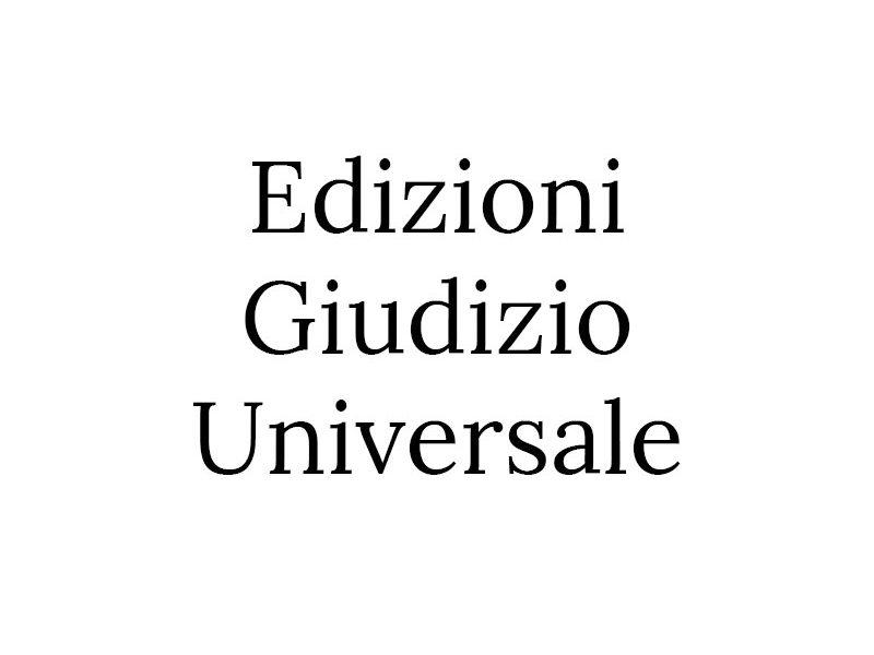 Edizioni Giudizio Universale